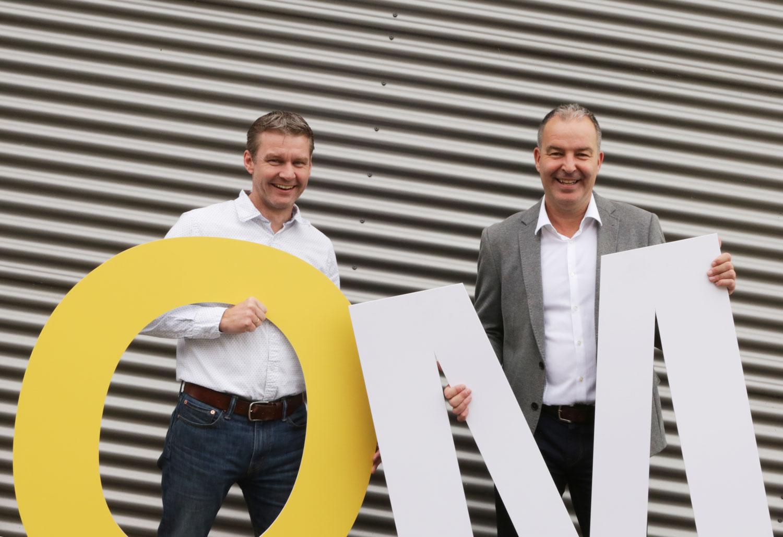 Twee partners die samenwerken op het gebied van omniprint, data en fulfilment